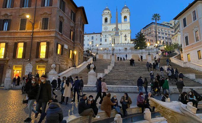 Italy eases covid-19 restrictions for Rome and Milan