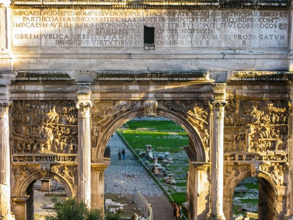 Rome's Arch of Septimius Severus to be restored