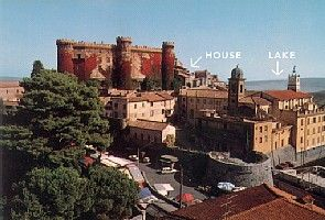 For rent charming apartment 2 bedroom 2 bathroom in Bracciano with easy access Rome