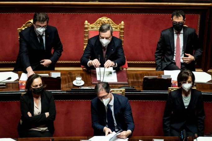 Draghi vows major reforms to help rebuild Italy