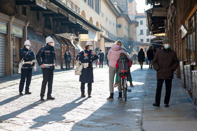 Covid-19: Italy declares new 'orange' zones amid concern over virus variants