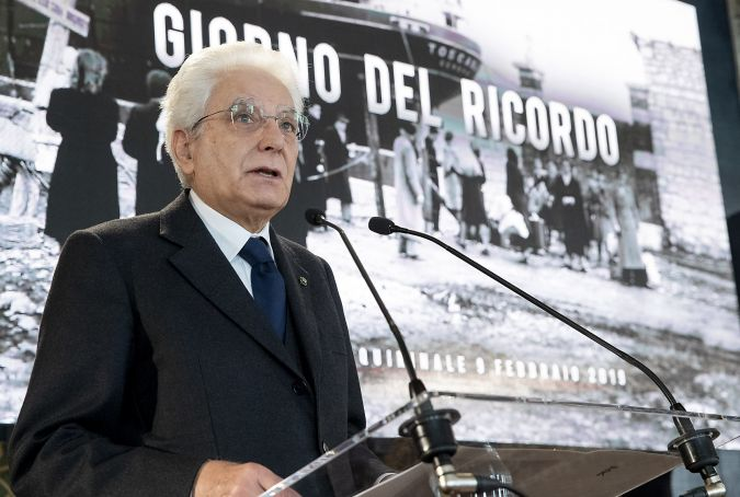 Italy's president recalls 'horror' of the Foibe