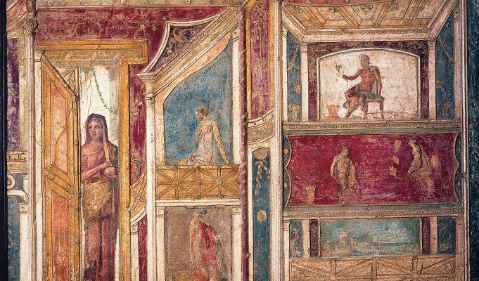 Rome's Colosseum hosts Pompeii exhibition
