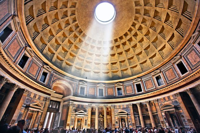 Covid-19 in Italy: Rome reopens the Pantheon after three months