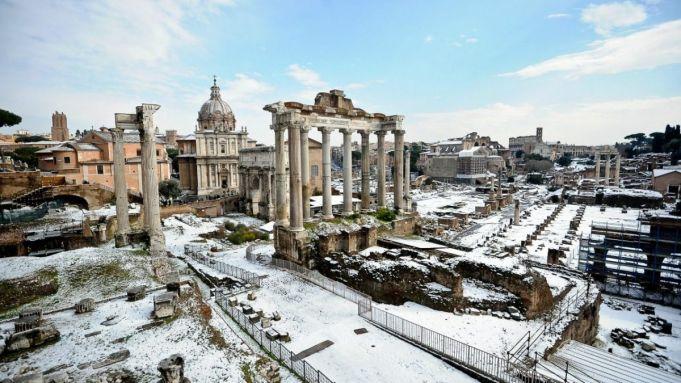 Rome risks snow on St Valentine's weekend