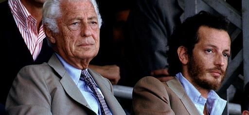 Gianni and Edoardo Agnelli