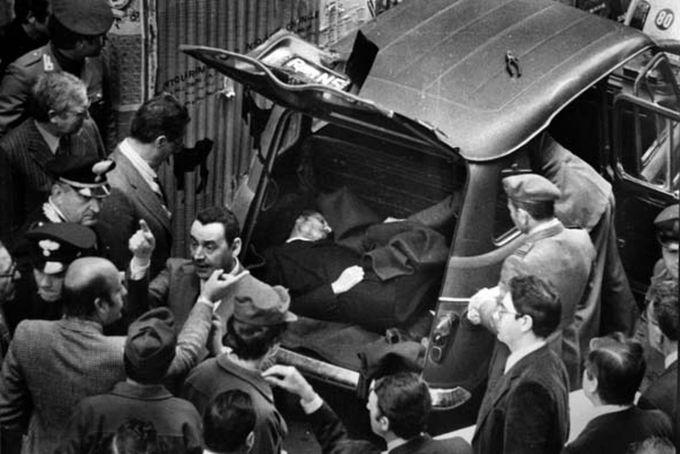 Aldo Moro's Body
