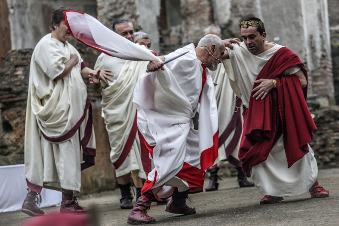 Ides of March: Rome remembers Julius Caesar