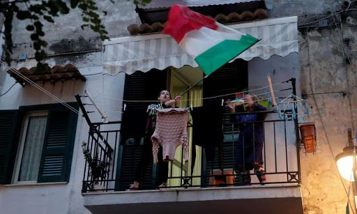 Covid-19: Italy marks one year since first lockdown as death toll passes 100,000