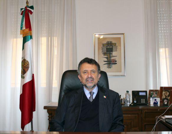 Ambassador Carlos García de Alba