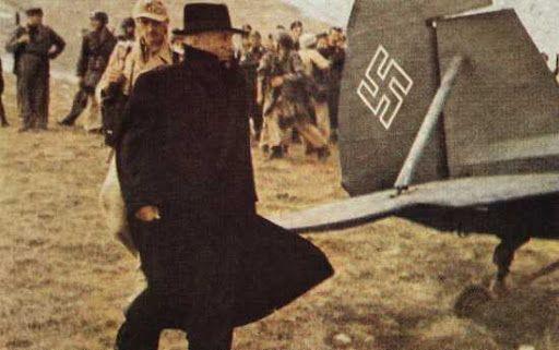 Mussolini weak