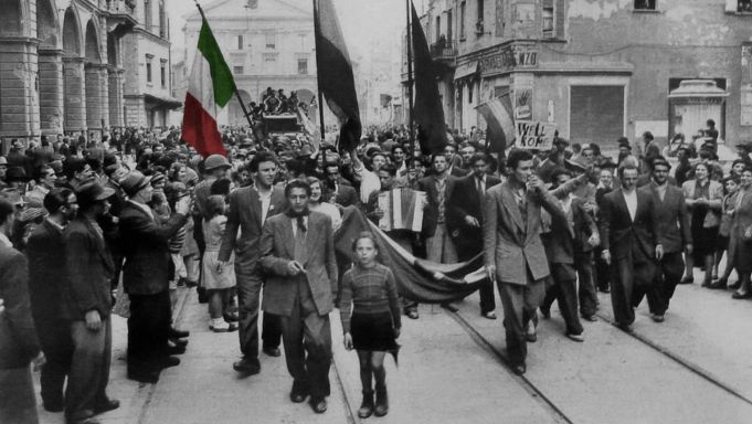 Why does Italy celebrate Liberation Day on 25 April?
