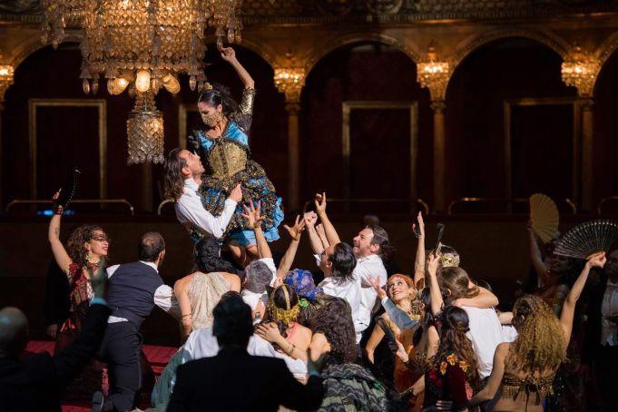 Rome Opera House stages film-opera of La Traviata
