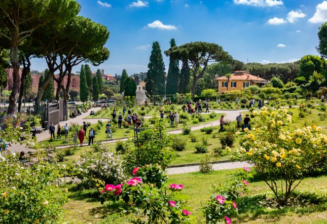 Rome reopens rose garden on city's 2,774th birthday