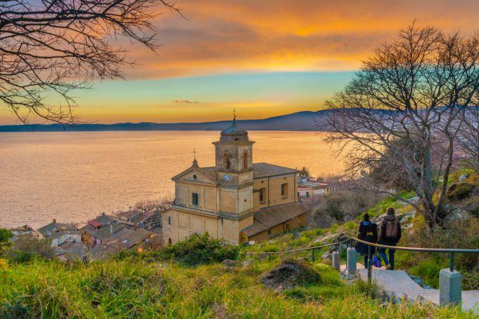 Trevignano Romano: Reflections from a Roman lake