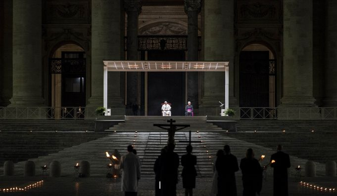 Pope's Easter schedule changes for second year due to covid-19
