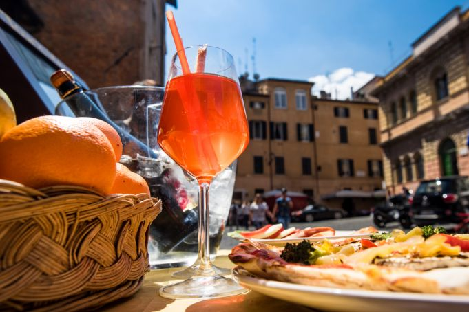 The Aperitivo, an Italian tradition