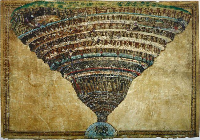 Botticelli Dante