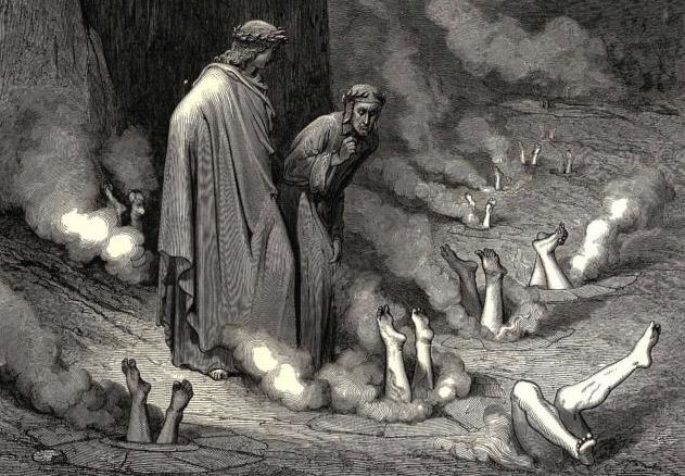 Artists inspired by Dante's Divine Comedy