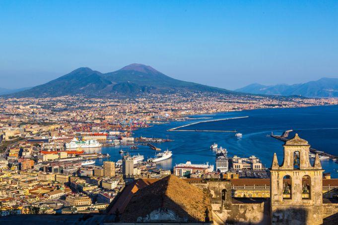 Naples and the Vesuvio