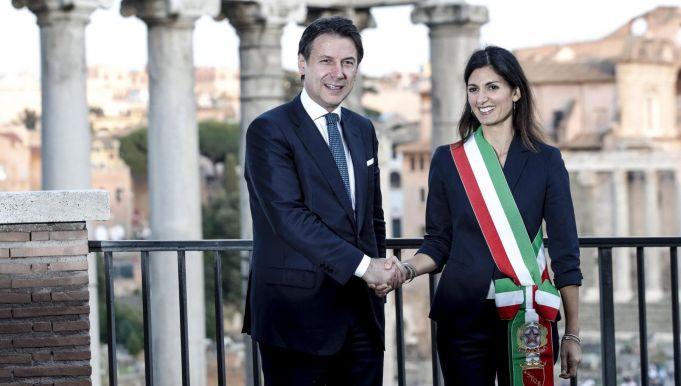 Rome's top job: Conte backs Raggi as Gualtieri enters race for mayor