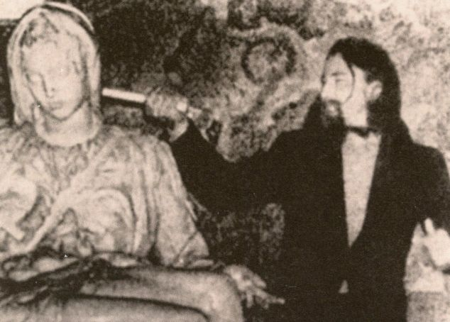 The day Michelangelo's Pietà was vandalised in a hammer attack