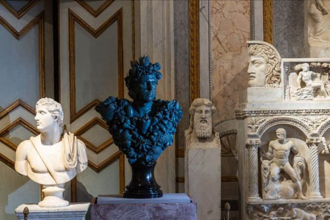 Rome's Galleria Borghese opens its doors to Damien Hirst