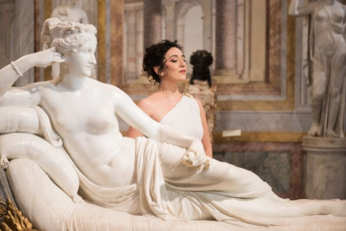Rome Opera House orchestra and dancers perform in Galleria Borghese