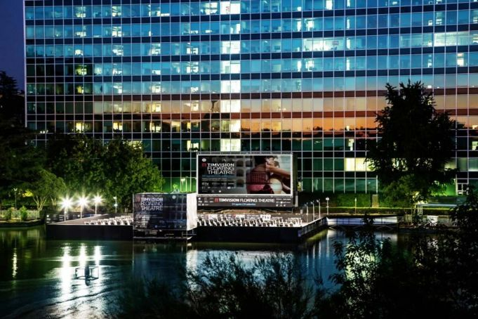 Rome's Floating Cinema returns to EUR this summer