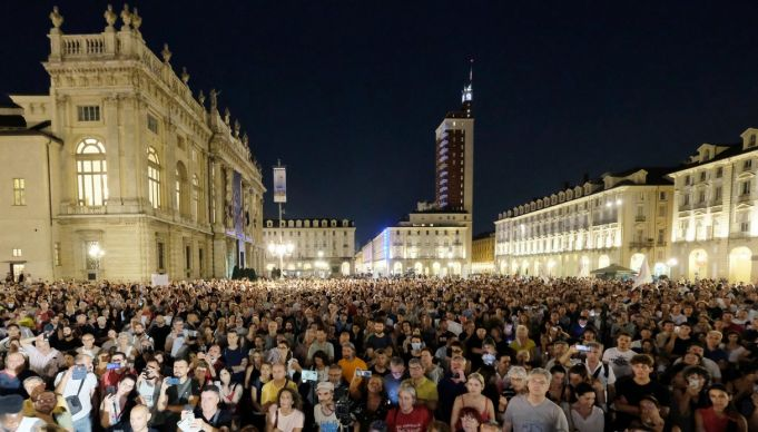 Turin protest over Italy's covid Green Pass