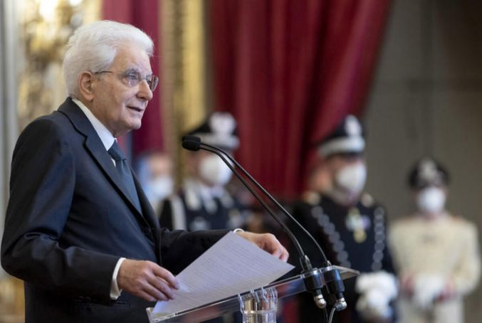 Italian president says covid vaccine a 'moral and civic duty'