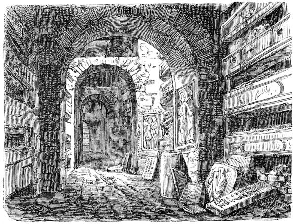 Old Catacombs in Rome