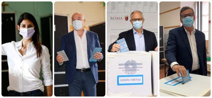 Rome mayor elections: Michetti and Gualtieri look set for run-off