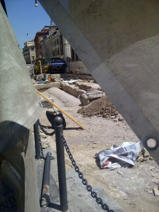 Tram 8 Piazza Venezia extension works facing history? - image 2