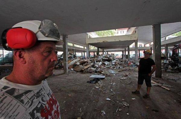 Rome's old Testaccio market demolished - image 1