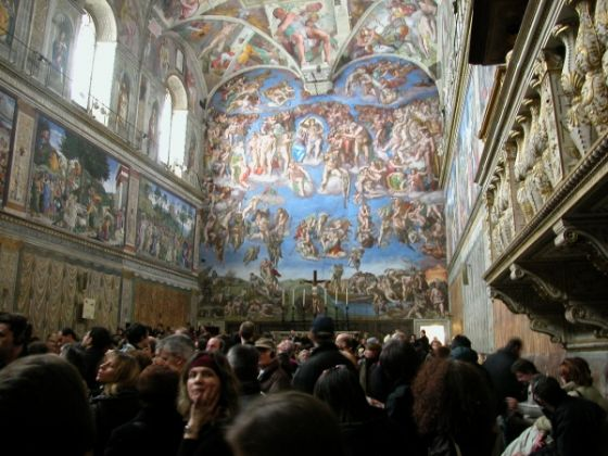 Sistine Chapel ceiling celebrates 500 years - image 4