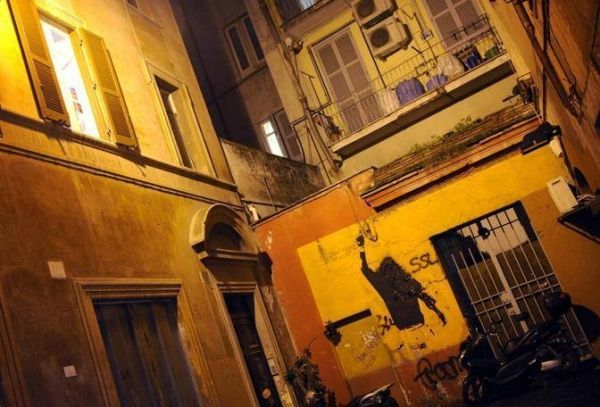 Rome's Totti mural defaced - image 2