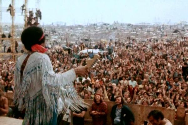 English language cinema in Rome: Hendrix 70: Live at Woodstock - image 3
