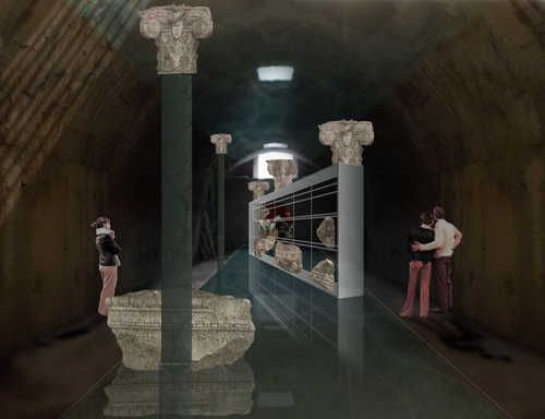 Baths of Caracalla tunnels open to public - image 2