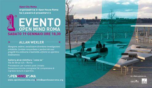 Open Mind Roma: US architect Allan Wexler in Rome - image 2
