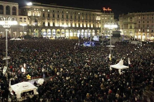 Beppe Grillo ends campaign in Piazza S Giovanni - image 3