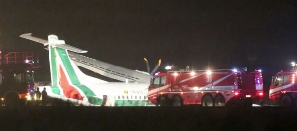 Plane veers off runway at Rome airport - image 3