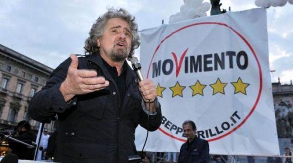 Beppe Grillo ends campaign in Piazza S Giovanni - image 2