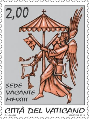 Sede vacante stamps and coins - image 3