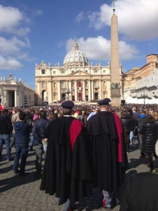 St Peter's shines for Pope Francis - image 3