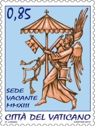 Sede vacante stamps and coins - image 2