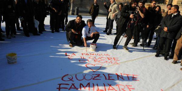 Pagina Bianca in Piazza del Popolo - image 1
