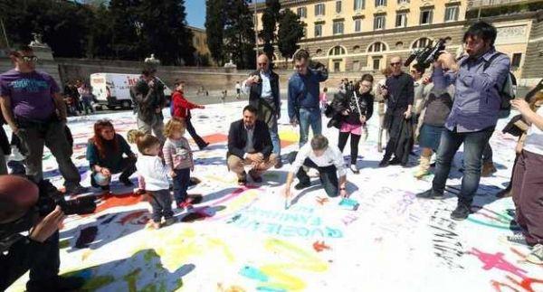 Pagina Bianca in Piazza del Popolo - image 3