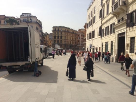 Tram 8 extension jams traffic in Rome centre - image 3