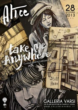 Alice Pasquini: Take Me Anywhere - image 2